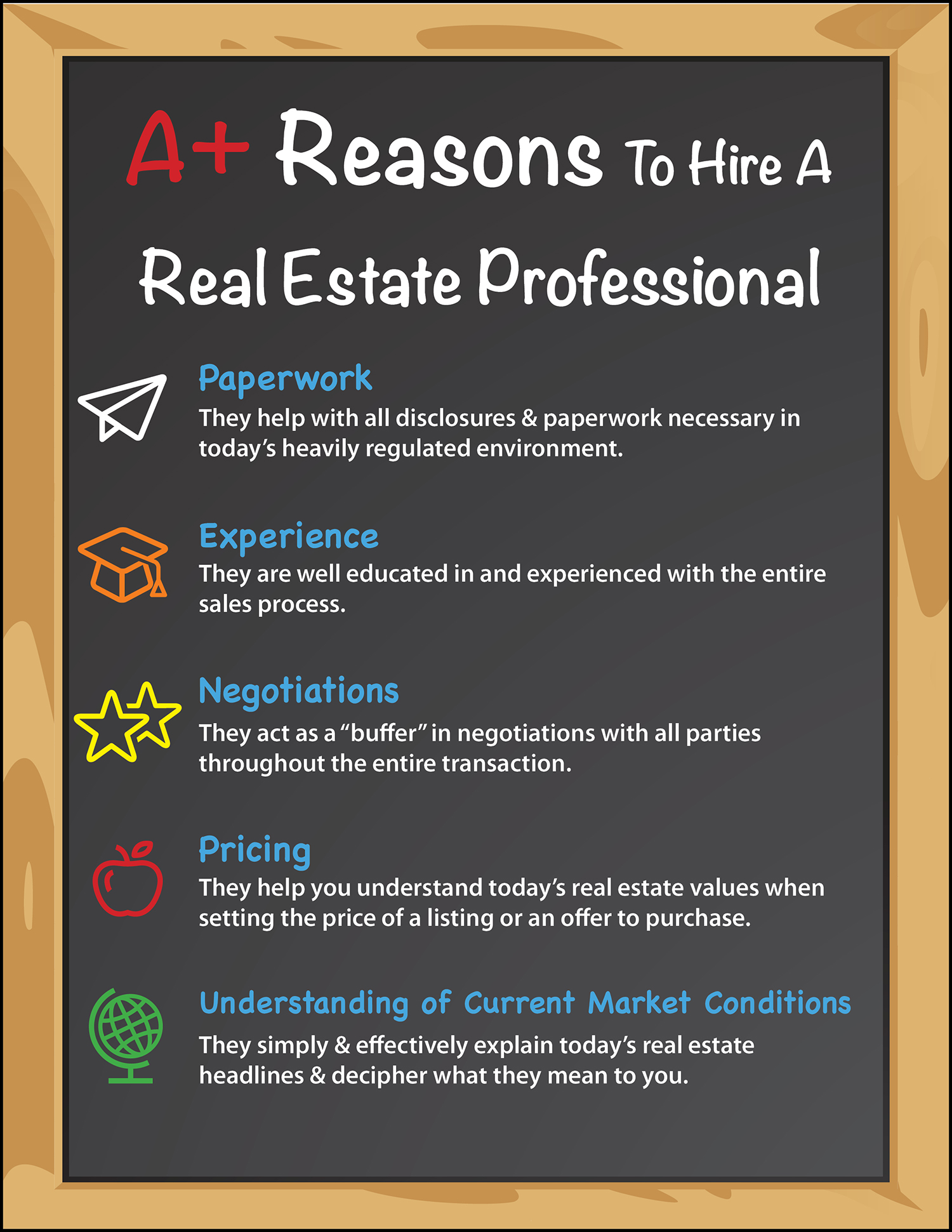 Want to Get an A? Hire A Real Estate Pro [INFOGRAPHIC]   Simplifying The Market