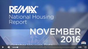 November 2016 Housing Report