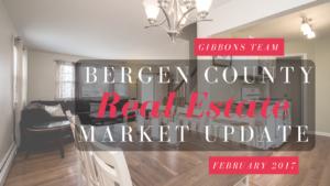 Bergen County Market Update February 2017